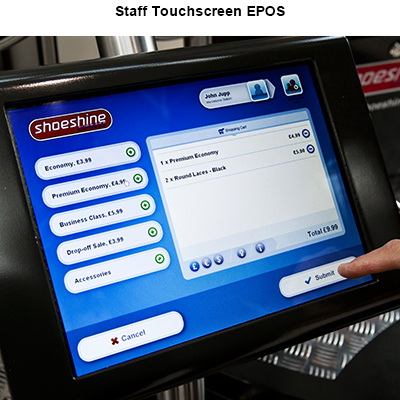 Staff Touchscreen EPOS