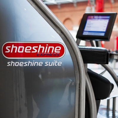 Shoeshine Unit Side Panel